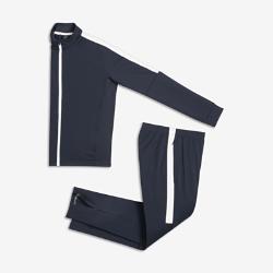 Футбольный костюм для школьников Nike Dry AcademyФутбольный костюм для школьников Nike Dry Academy состоит из куртки и облегающих брюк из комфортной влагоотводящей ткани.<br>