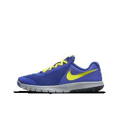 Беговые кроссовки для школьников Nike Flex Experience 5Беговые кроссовки для школьников Nike Flex Experience 5 с перфорацией и сеткой обеспечивают непревзойденную вентиляцию при каждом шаге. Глубокие эластичные желобки в подошве обеспечивают естественную свободу движений.<br>