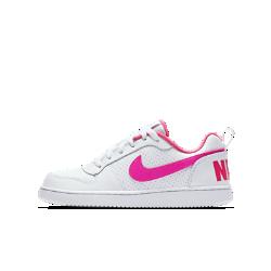 Кроссовки для школьников NikeCourt Borough LowКроссовки для дошкольников NikeCourt Borough Low — новая версия классической модели в баскетбольном стиле с низким профилем и удобной посадкой.<br>