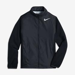 Куртка для гольфа для мальчиков школьного возраста Nike Shield Full-ZipКуртка для гольфа для мальчиков школьного возраста Nike Shield Full-Zip из водоотталкивающей ткани защищает от непогоды.<br>