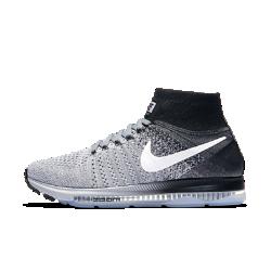 Женские беговые кроссовки Nike Air Zoom All Out FlyknitЖенские беговые кроссовки Nike Air Zoom All Out Flyknit обеспечивают естественный комфорт и гибкость благодаря низкопрофильной амортизации и дышащему трикотажному верху. Нити Flywire интегрированы со шнурками для фиксации стопы без утяжеления.<br>
