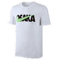 <ナイキ(NIKE)公式ストア> ナイキ OSAKA スウッシュ メンズ Tシャツ 845440-100 ホワイト画像