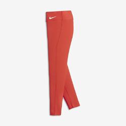 Тайтсы для тренинга для девочек школьного возраста Nike PowerТайтсы для тренинга для девочек школьного возраста Nike Power из влагоотводящей ткани с компрессионной посадкой обеспечивают поддержку и комфорт во время тренировок.<br>