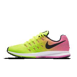 Мужские беговые кроссовки Nike Air Zoom Pegasus 33 ULTDМужские беговые кроссовки Nike Air Zoom Pegasus 33 ULTD с идеальной посадкой и адаптивной амортизацией помогут тебе легко выбрать темп и сосредоточиться на скорости.  Мгновенная амортизация  Вставки Nike Zoom Air обеспечивают мягкость и упругую амортизацию.  Фиксация и комфорт  Плотно прилегающая сетка Engineered mesh обеспечивает воздухопроницаемость, а ультралегкий прочный материал Flywire превосходно поддерживает стопу.  Плавность движений  Конструкция пятки не стесняет свободы движений, а подметка равномерно распределяет и смягчает ударную нагрузку, позволяя двигаться легко и плавно.<br>