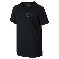 Футболка для школьников Nike CR7 LogoФутболка для школьников Nike CR7 Logo из мягкой влагоотводящей ткани обеспечивает комфорт на весь день.<br>