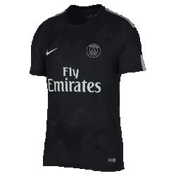 Мужское футбольное джерси 2017/18 Paris Saint-Germain Vapor Match ThirdМужское футбольное джерси 2017/18 Paris Saint-Germain Vapor Match Third — реплика модели, в которой выступают профессиональные игроки, с технологией Nike AeroSwift для невероятной воздухопроницаемости, легкости и свободы движений.<br>