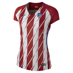 2017/18 Atletico de Madrid Stadium Home Women's Football Shirt