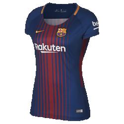 Женское футбольное джерси 2017/18 FC Barcelona Stadium HomeЖенское футбольное джерси 2017/18 FC Barcelona Stadium Home из легкой ткани обеспечивает комфорт на каждый день.<br>