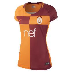Женское футбольное джерси 2017/18 Galatasaray S.K. Stadium HomeЖенское футбольное джерси 2017/18 Galatasaray S.K. Stadium Home из легкой влагоотводящей ткани обеспечивает охлаждение и комфорт.<br>