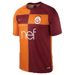 Мужская игровая футболка Galatasaray S.K. Dry HomeМужская игровая футболка Galatasaray S.K. Dry Home из влагоотводящей ткани с рукавами покроя реглан обеспечивает комфорт и свободу движений на поле.<br>