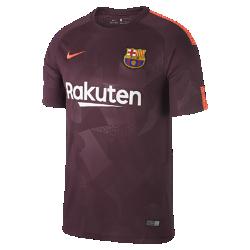 Мужское футбольное джерси 2017/18 FC Barcelona Stadium ThirdМужское футбольное джерси 2017/18 FC Barcelona Stadium Third из легкой влагоотводящей ткани обеспечивает охлаждение и комфорт.<br>