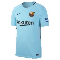Мужское футбольное джерси 2017/18 FC Barcelona Stadium AwayМужское футбольное джерси 2017/18 FC Barcelona Stadium Away из легкой влагоотводящей ткани обеспечивает охлаждение и комфорт.<br>