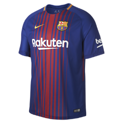 2017/18 FC Barcelona Stadium Home Men's Football Shirt