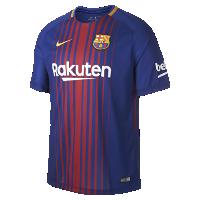 <ナイキ(NIKE)公式ストア>2017/18 FC バルセロナ スタジアム ホーム メンズ サッカージャージー 847255-456 ブルー画像