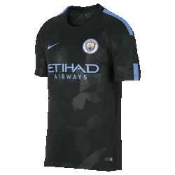 Мужское футбольное джерси 2017/18 Manchester City FC Stadium ThirdМужское футбольное джерси 2017/18 Manchester City FC Stadium Third из легкой влагоотводящей ткани обеспечивает охлаждение и комфорт.<br>