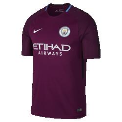 Мужское футбольное джерси 2017/18 Manchester City FC Stadium AwayМужское футбольное джерси 2017/18 Manchester City FC Stadium Away из легкой влагоотводящей ткани обеспечивает охлаждение и комфорт.<br>