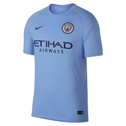 2017/18 Manchester City FC Stadium Home Men's Football Shirt