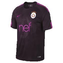 Мужское футбольное джерси 2017/18 Galatasaray S.K. Stadium ThirdМужское футбольное джерси 2017/18 Galatasaray S.K.Stadium Third из легкой влагоотводящей ткани обеспечивает охлаждение и комфорт.<br>