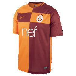 Мужское футбольное джерси 2017/18 Galatasaray S.K. Stadium HomeМужское футбольное джерси 2017/18 Galatasaray S.K. Stadium Home из легкой влагоотводящей ткани обеспечивает охлаждение и комфорт.<br>