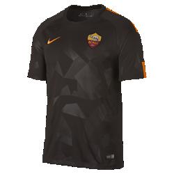 Мужское футбольное джерси 2017/18 A.S. Roma Stadium ThirdМужское футбольное джерси 2017/18 A.S. Roma Stadium Third из легкой влагоотводящей ткани обеспечивает охлаждение и комфорт.<br>