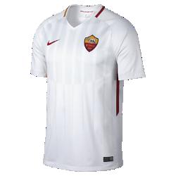 Мужское футбольное джерси 2017/18 A.S. Roma Stadium AwayМужское футбольное джерси 2017/18 A.S. Roma Stadium Away из легкой влагоотводящей ткани обеспечивает охлаждение и комфорт.<br>