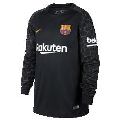 Футбольное джерси с длинным рукавом для школьников 2017/2018 FC Barcelona Stadium GoalkeeperФутбольное джерси с длинным рукавом для школьников 2017/18 FC Barcelona Stadium Goalkeeper из дышащей влагоотводящей ткани обеспечивает охлаждение и комфорт.<br>