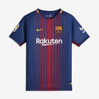 <ナイキ(NIKE)公式ストア>2017/18 FC バルセロナ ホーム ジュニア サッカージャージー 847387-456 ブルー画像