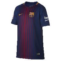 <ナイキ(NIKE)公式ストア>2017/18 FC バルセロナ ホーム ジュニア サッカージャージー 847387-457 ブルー画像