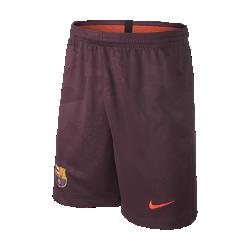 Футбольные шорты для школьников 2017/18 FC Barcelona Stadium ThirdФутбольные шорты для школьников 2017/18 FC Barcelona Stadium Third обеспечивают легкость и комфорт на трибунах или улицах города.<br>