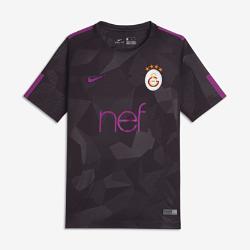 Футбольное джерси для школьников 2017/18 Galatasaray S.K. Stadium ThirdФутбольное джерси для школьников 2017/18 Galatasaray S.K. Stadium Third из легкой влагоотводящей ткани обеспечивает охлаждение и комфорт.<br>