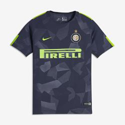 Футбольное джерси для школьников 2017/18 Inter Milan Stadium ThirdФутбольное джерси для школьников 2017/18 Inter Milan Stadium Third из легкой влагоотводящей ткани обеспечивает охлаждение и комфорт.<br>
