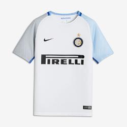 Футбольное джерси для школьников 2017/18 Inter Milan Stadium AwayФутбольное джерси для школьников 2017/18 Inter Milan Stadium Away из дышащей влагоотводящей ткани обеспечивает охлаждение и комфорт.<br>