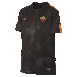 Футбольное джерси для школьников 2017/18 A.S. Roma Stadium ThirdФутбольное джерси для школьников 2017/18 A.S. Roma Stadium Third из дышащей влагоотводящей ткани обеспечивает охлаждение и комфорт.<br>
