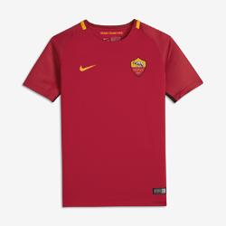 Футбольное джерси для школьников 2017/18 A.S. Roma Stadium HomeФутбольное джерси для школьников 2017/18 A.S. Roma Stadium Home из легкой влагоотводящей ткани обеспечивает охлаждение и комфорт.<br>