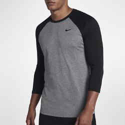 Мужская футболка с рукавом 3/4 Nike Legend RaglanМужская футболка с рукавом 3/4 Nike Legend Raglan из влагоотводящей ткани обеспечивает естественную свободу движений и комфорт.<br>