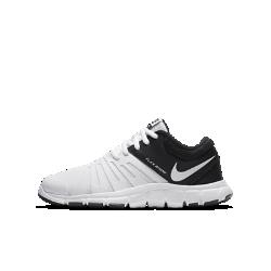 Кроссовки для тренинга для дошкольников/школьников Nike Flex Show TR 5Легкие, дышащие и невероятно гибкие кроссовки для тренинга для дошкольников/школьников Nike Flex Show TR 5 идеальны для разных типов тренировок.  Воздухопроницаемость и поддержка  Легкая сетка и прочные накладки обеспечивают поддержку и воздухопроницаемость на интенсивных тренировках.  Гибкость и амортизация  Цельная основа из пеноматериала обеспечивает легкость и мягкую амортизацию, а глубокие эластичные желобки способствуют свободе движений.  Надежное сцепление  Резиновые отделы на подошве повышают долговечность и сцепление с любыми поверхностями.<br>
