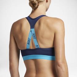 Спортивное бра со средней поддержкой Nike ClassicСпортивное бра со средней поддержкой Nike Classic из влагоотводящей ткани обеспечивает оптимальный комфорт во время тренировок средней интенсивности.<br>