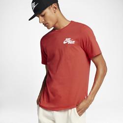 """Мужская футболка Nike Sportswear Hybrid """"Just Do It""""Мужская футболка Nike Sportswear Hybrid """"Just Do It"""" из мягкого и прочного хлопка обеспечивает комфорт на весь день.<br>"""