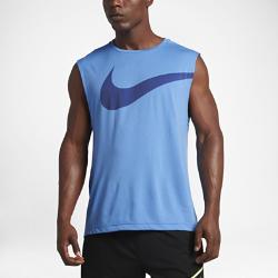 Мужская майка для тренинга Nike BreatheМужская майка для тренинга Nike Breathe обеспечивает вентиляцию и свободу движений, позволяя сохранять полную концентрацию и комфорт на протяжении всей тренировки.<br>