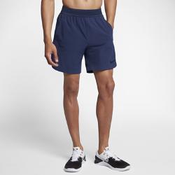 Мужские шорты для тренинга Nike Flex-Repel 20,5 смМужские шорты для тренинга Nike Flex-Repel 20,5 см обеспечивают полную свободу движений и защиту от влаги и перегрева во время самых интенсивных тренировок.<br>