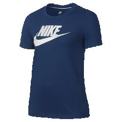Футболка с коротким рукавом для девочек школьного возраста Nike Sportswear EssentialФутболка с коротким рукавом для девочек школьного возраста Nike Sportswear Essential из прочной и мягкой шелковистой ткани обеспечивает комфорт на весь день.<br>