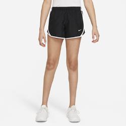 Беговые шорты для девочек школьного возраста Nike Dri-FIT TempoБеговые шорты для девочек школьного возраста Nike Dri-FIT Tempo с боковыми вставками из сетки и изогнутой нижней кромкой обеспечивают вентиляцию и естественную свободу движений во время бега.<br>
