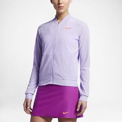 Женская теннисная куртка NikeCourt MariaЖенская теннисная куртка NikeCourt Maria из эластичной влагоотводящей ткани предназначена для разминки и отлично сочетается с другой одеждой, обеспечивая комфорт.<br>