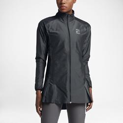 Женская теннисная куртка из тканого материала NikeCourtЖенская теннисная куртка из тканого материала NikeCourt из влагоотводящей ткани с рукавами покроя реглан, вставками в области подмышек и плиссировкой обеспечивает комфорт и естественную свободу движений на корте.<br>