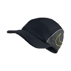 Бейсболка для бега Nike AeroBillКепка для бега Nike AeroBill обеспечивает защиту и охлаждение благодаря легкой ткани и канту для комфорта и защиты от влаги.<br>
