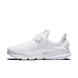 Женские кроссовки Nike Sock DartЖенские кроссовки Nike Sock Dart с мягким верхом комфортно облегают стопу, но отлично сохраняют форму, обеспечивая необходимую стабилизацию.  Плотная посадка и надежная фиксация  Эластичная воздухопроницаемая сетка позволяет сохранить ощущение прохлады и обеспечивает комфорт, а литой ремешок с регулируемой застежкой в средней части стопыпозволяет сделать посадку максимально удобной.  Мягкая амортизация  Полноразмерная вставка из материла Phylon надолго обеспечивает амортизацию и комфорт.<br>