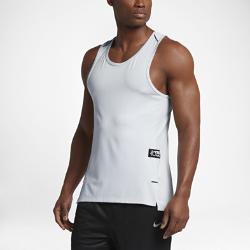 Мужская баскетбольная майка Nike Dry KD Hyper EliteМужская баскетбольная майка Nike Dry KD Hyper Elite из легкой дышащей ткани обеспечивает прохладу, комфорт и свободу движений в жаркую погоду и самые жаркие моменты игры.<br>