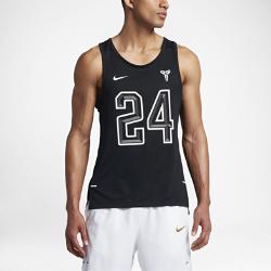 Мужская баскетбольная майка Nike Dry Kobe Hyper EliteМужская баскетбольная майка Nike Dry Kobe Hyper Elite из ультралегкой дышащей ткани обеспечивает прохладу, комфорт и свободу движений в жаркую погоду и самые жаркие моменты игры.<br>