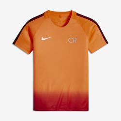 Игровая футболка для мальчиков школьного возраста Nike Dry CR7 SquadИгровая футболка для мальчиков школьного возраста Nike Dry CR7 Squad из влагоотводящей ткани и дышащей сетки обеспечивает комфорт во время тренировок и игры.<br>