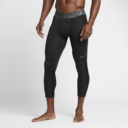 Мужские баскетбольные тайтсы длиной 3/4 Nike Pro HyperCoolМужские баскетбольные тайтсы длиной 3/4 Nike Pro HyperCool из прочной влагоотводящей ткани обеспечивают компрессионную посадку, поддержку и вентиляцию для максимальных результатов во время игры.<br>